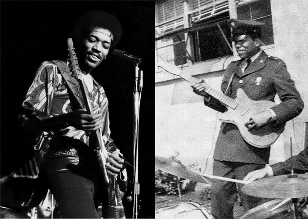 10 Musicians Who Have Served In The Military  Jimi Hendrix Army Unit
