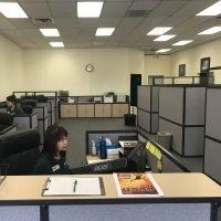 Reception area of Omni Military Loans, Military Lender in Lakewood, WA