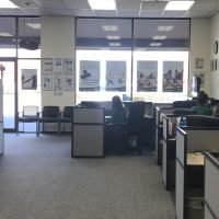 Reception area of Omni Military Loans, Military Lender in Lakewood, WA