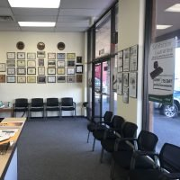 Waiting area of Omni Military Loans, Military Lender in Lakewood, WA