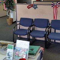 Waiting area of Omni Military Loans, Military Lender in Norfolk, VA