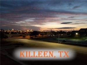 Killeen, TX Blog Cover