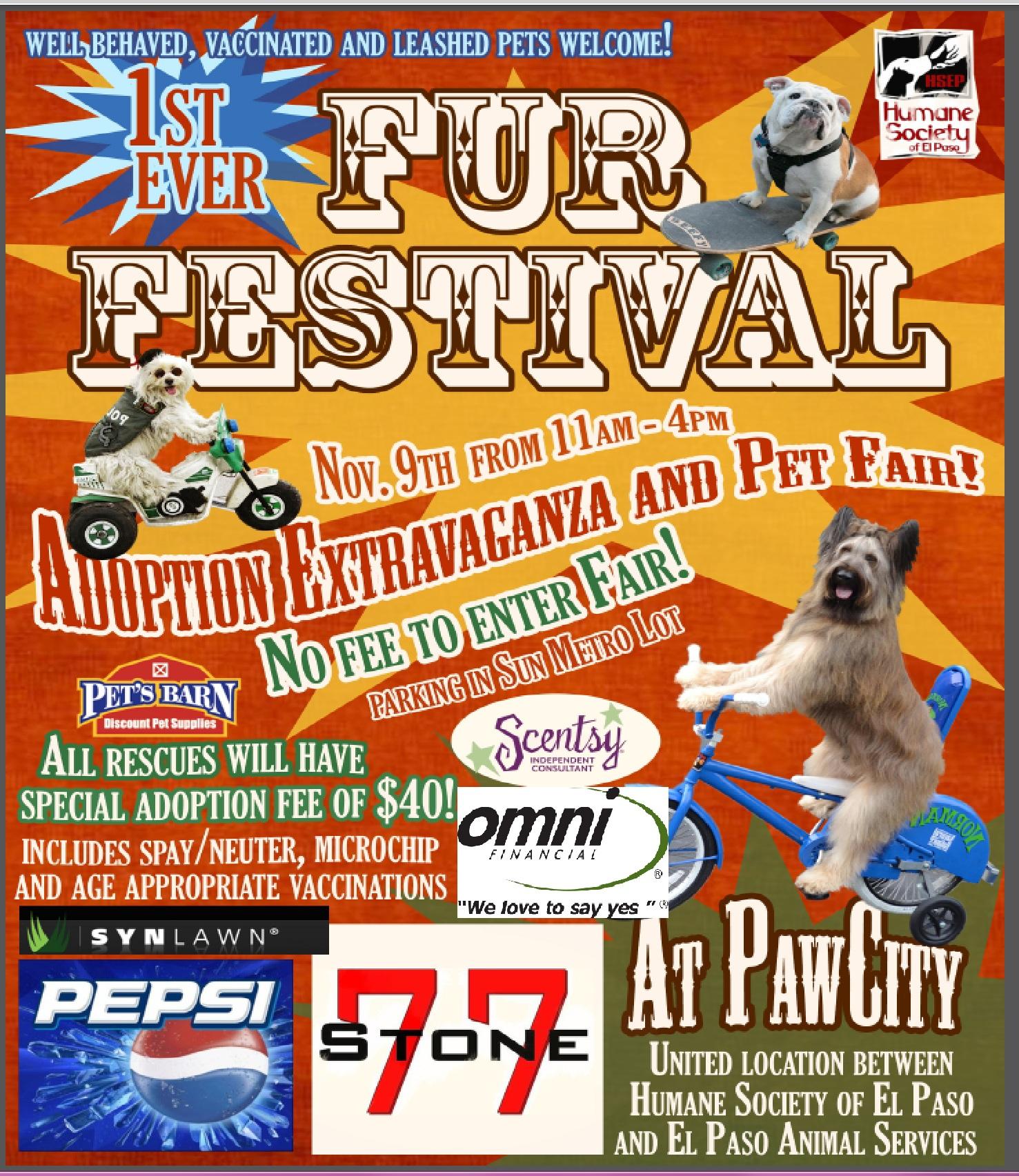 Adoption Extravaganza And Pet Fair