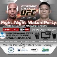 April_2015_UFC186FightnightWatchApr25_2015Party_Killeen_TX_flyuer