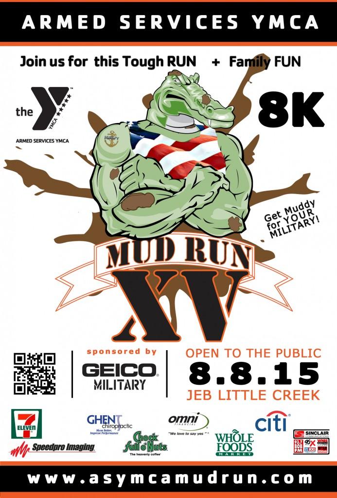 2015 Mud Run Poster