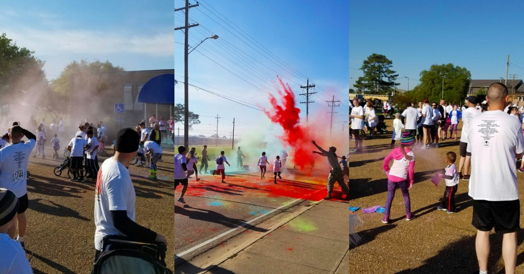 Omni Military Loans Ft Polk 5K Color Run Stiched 1