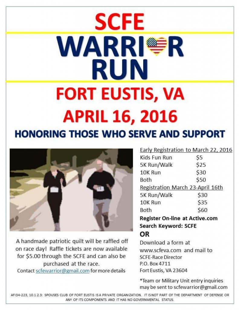 Omni Military Loans SCFE Warrior Run 206 For Eustis