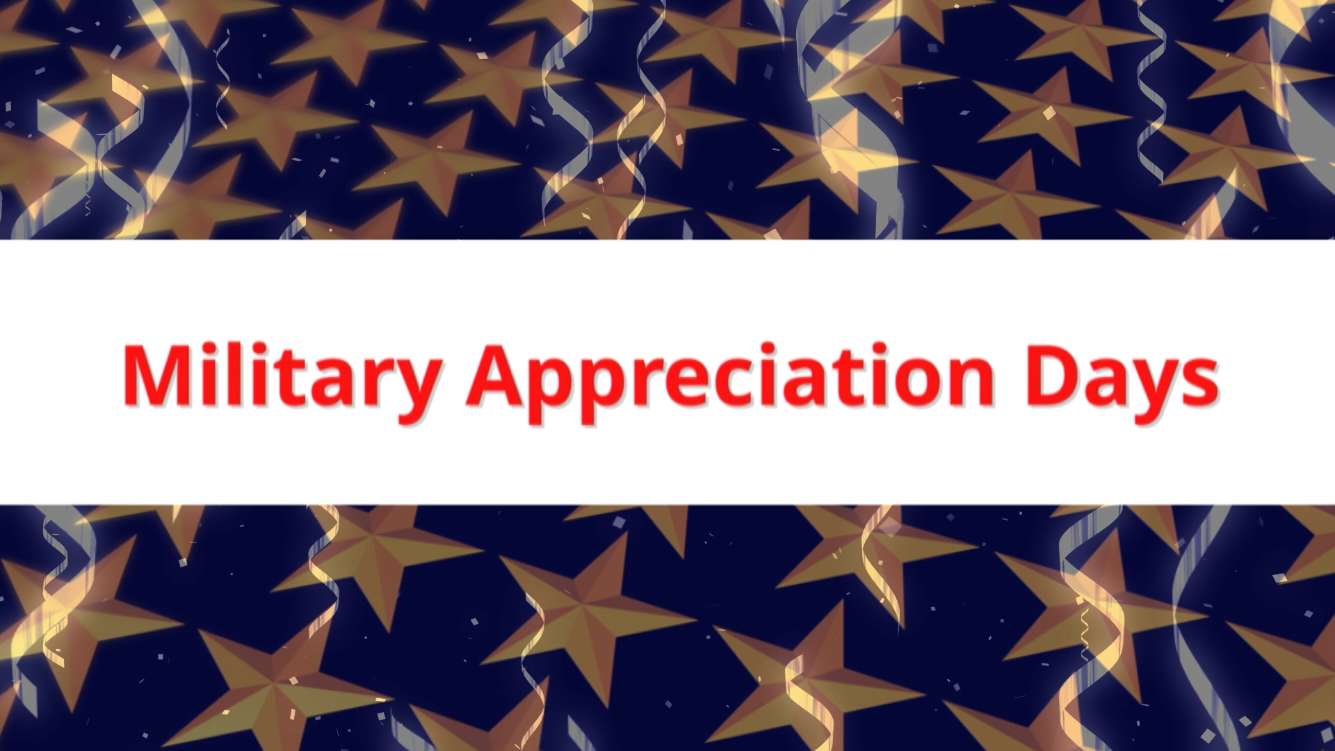 Military Appreciation Days THUMBNAIL