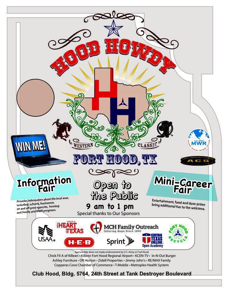 Hood Howdy 2015 Flyer