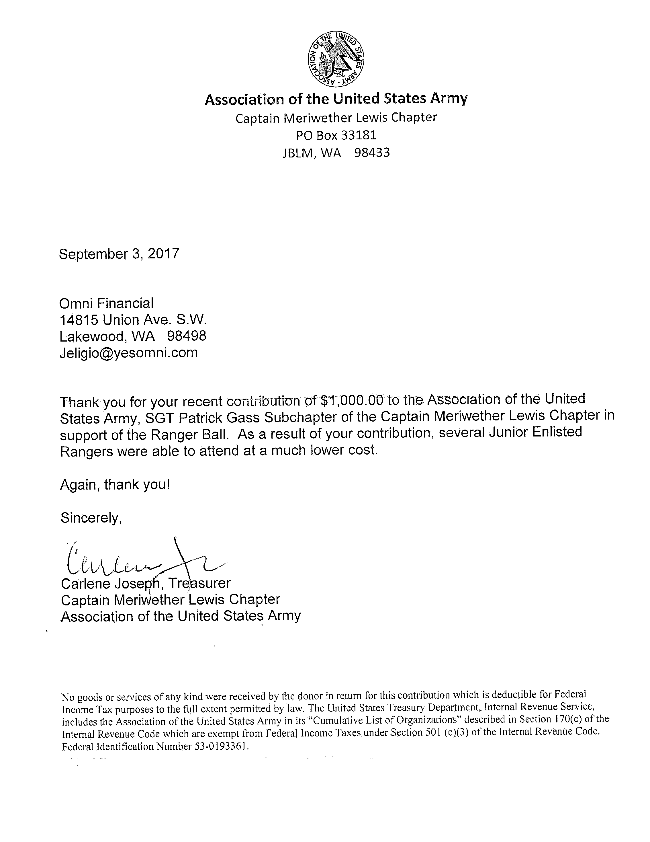 Thank You For Your Military Service Letter Sample  Cover Letter