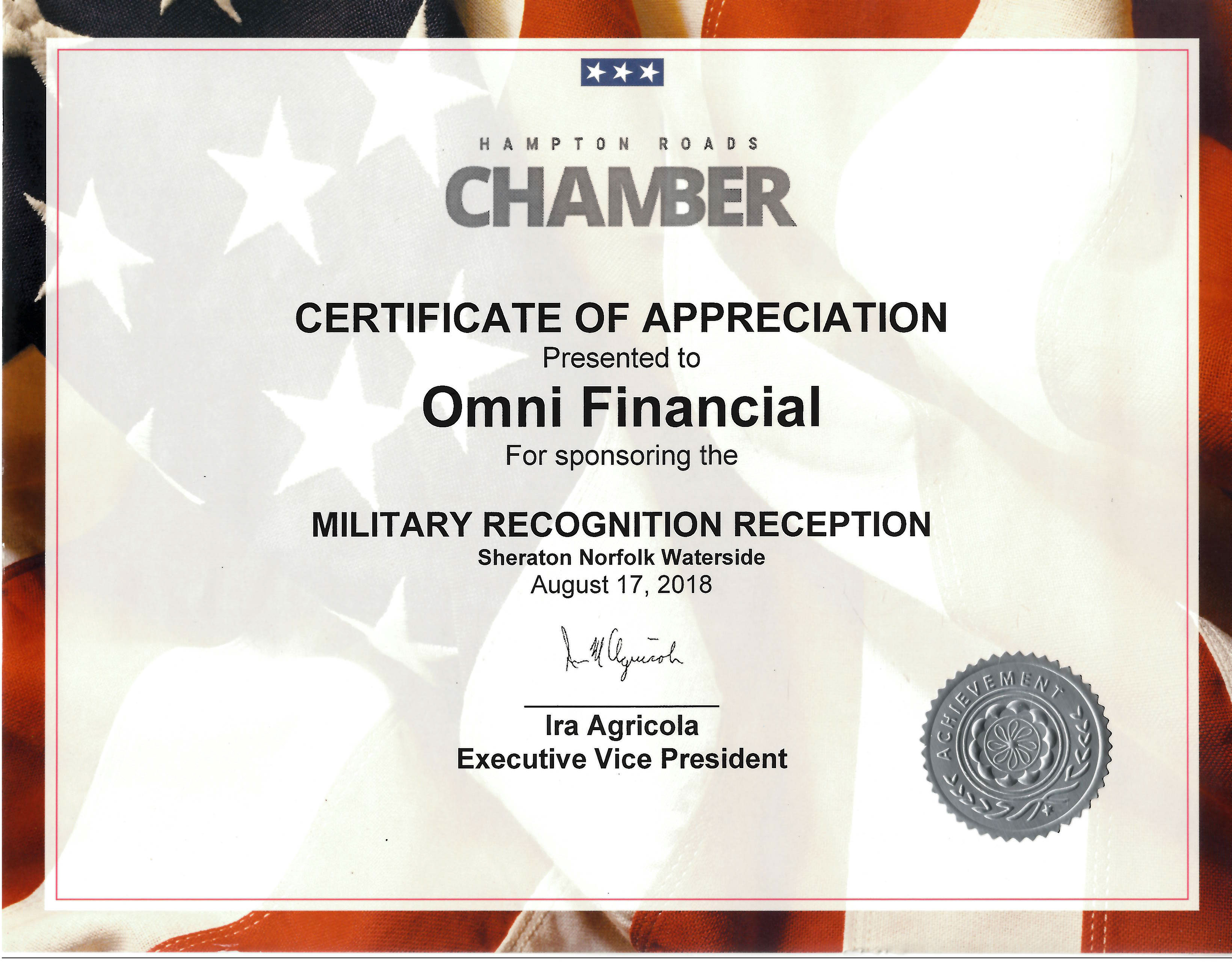 HRCC Military Recognition Reception
