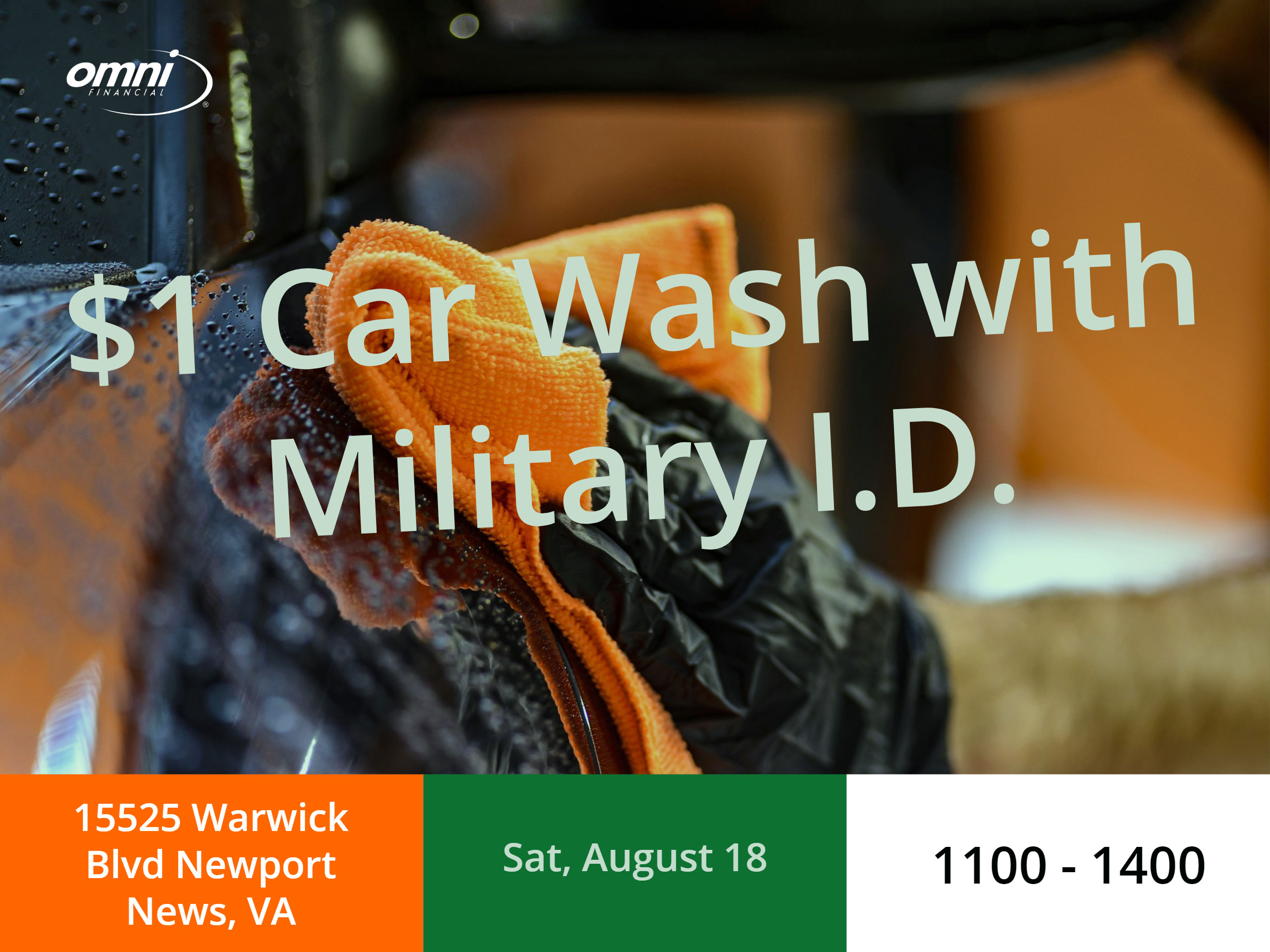 Omni Military Dollar Car Wash Newport News Virginia