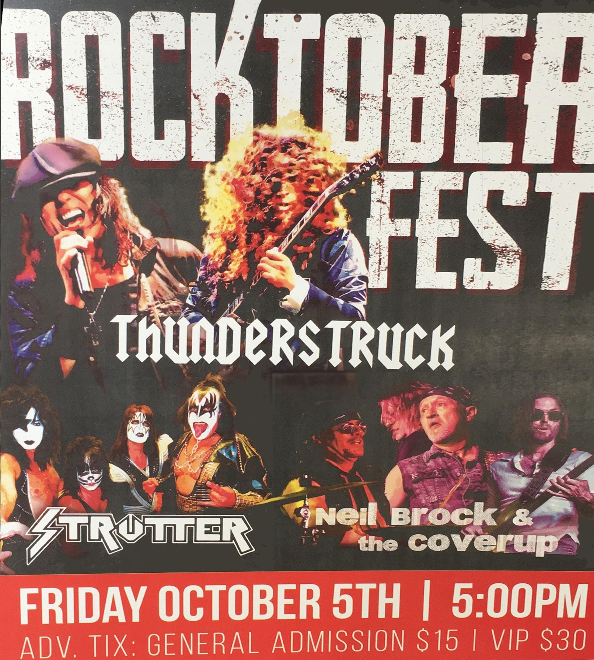 rocktoberfest Clarksville Oconnors