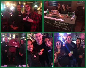 Omni of Clarksville's Staff at the Big Game Party 2019 at O'Connors Irish Pub and Grill | Omni Military Loans