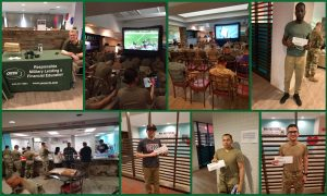 USO Oklahoma partnered with Omni in Lawton for the Big Game 2019 | Omni Military Loans