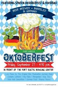 Newport News Oktoberfest 2019 Flyer