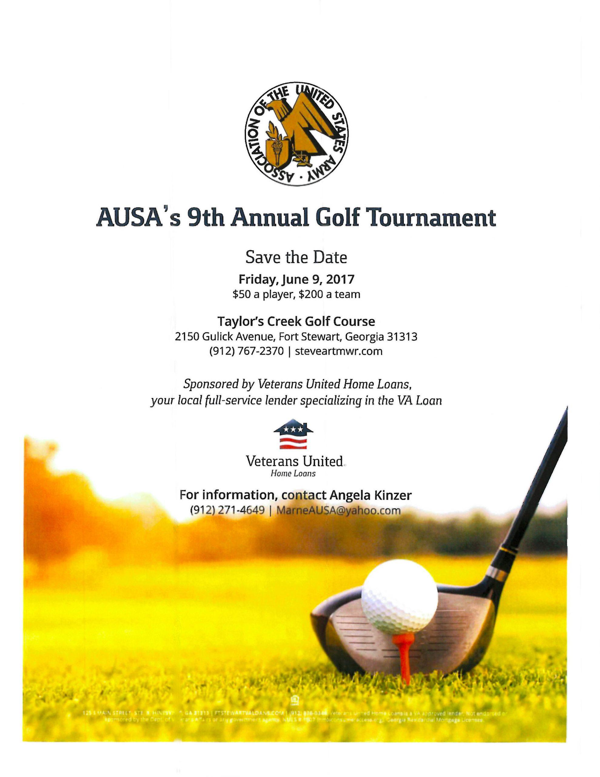 AUSA Golf Tournament 2017