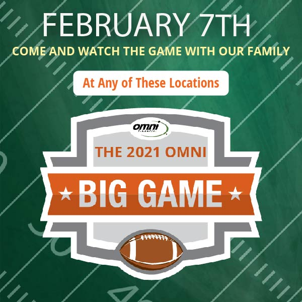 The Big Game 2021 – Omni Viewing Parties