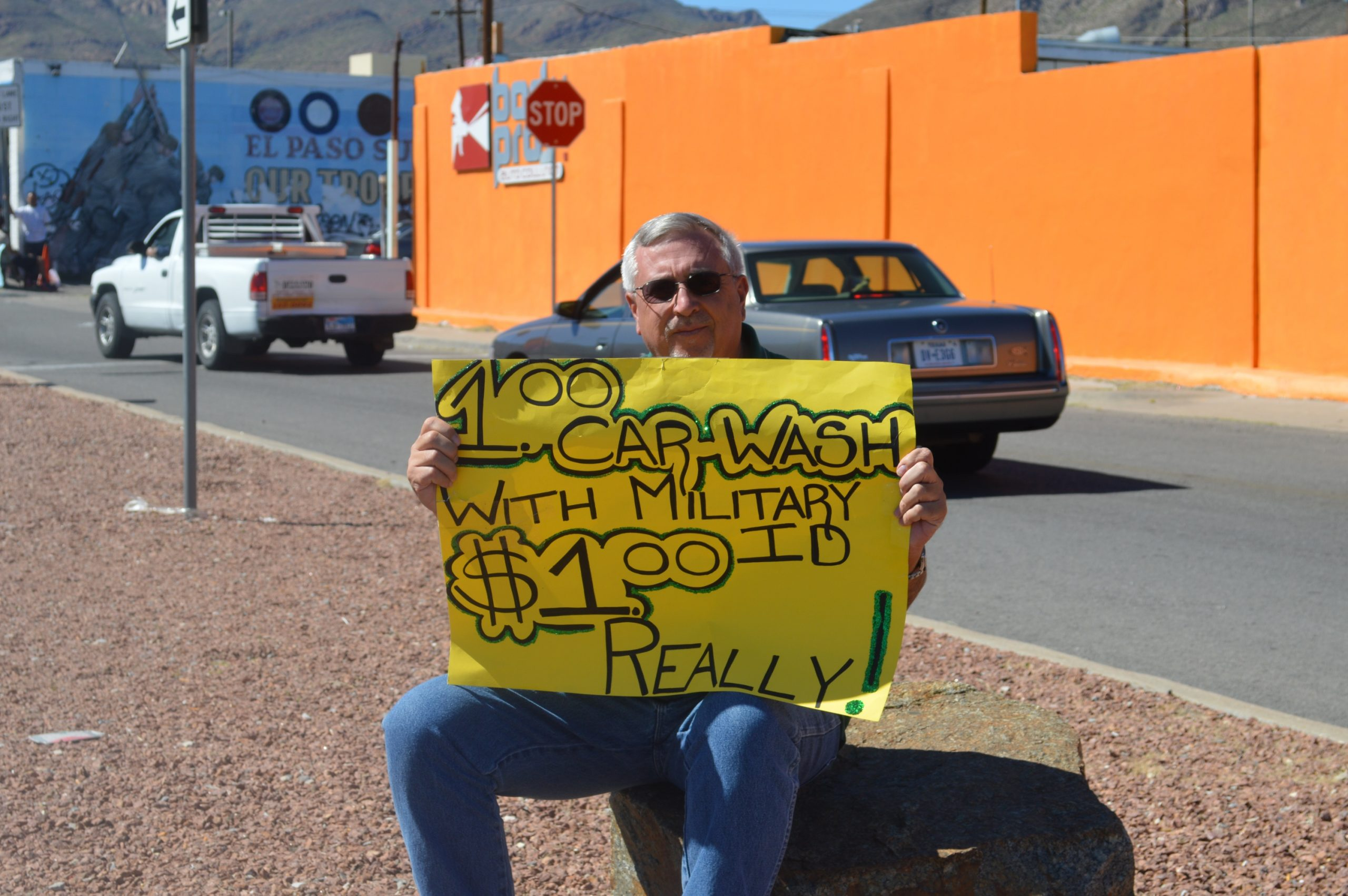 $1.00 Military Car Wash. Only $1.00 – Really!