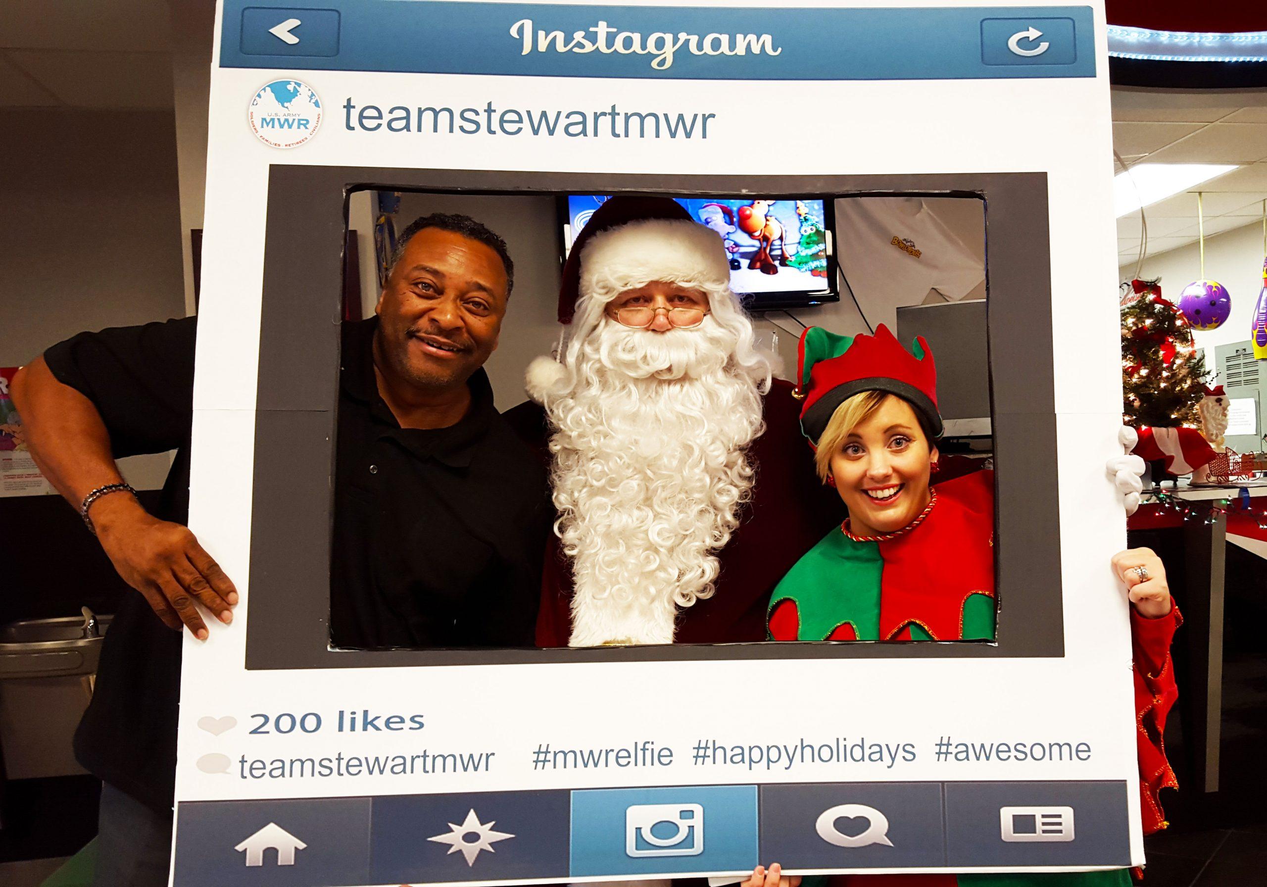 MWR Bowling with Santa