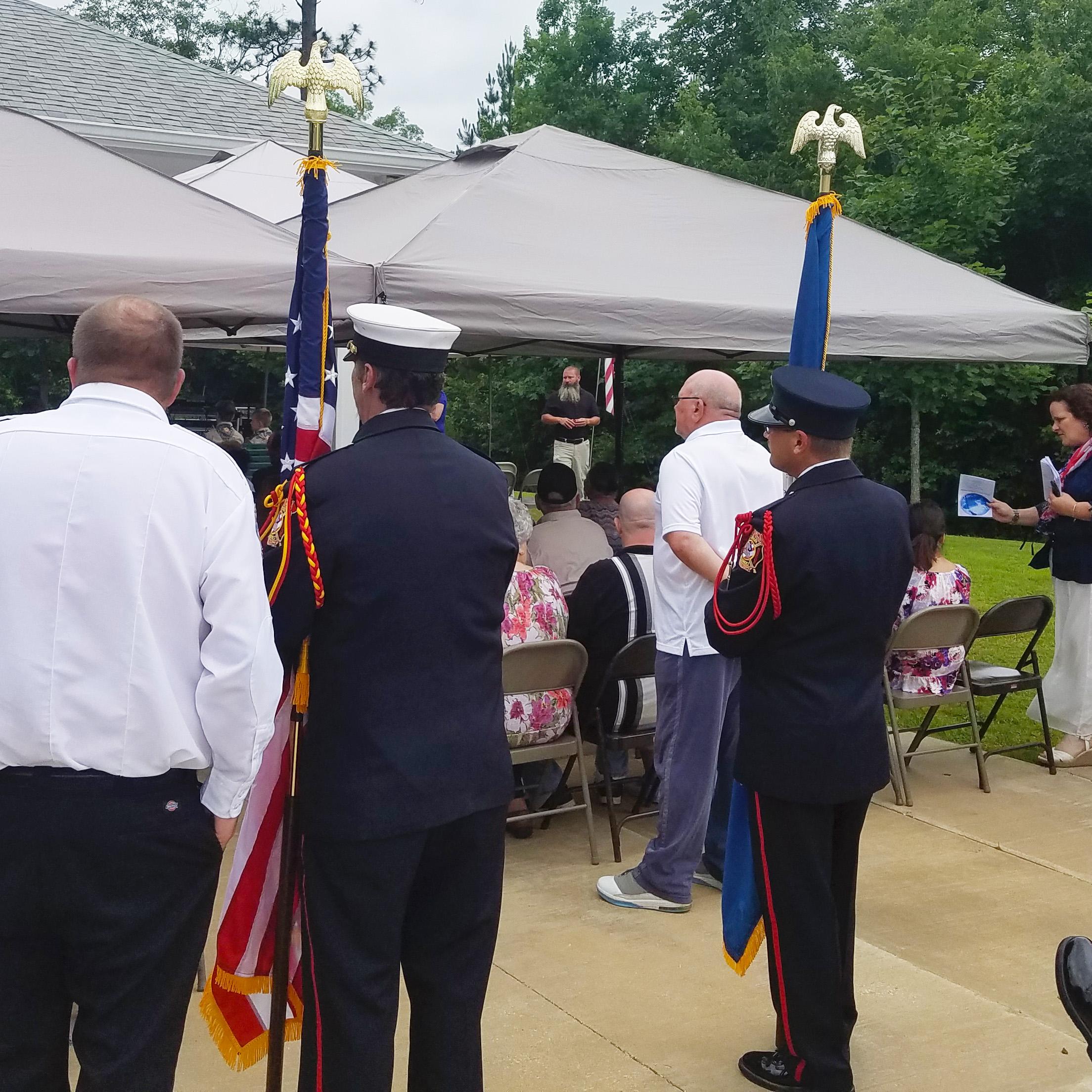 Central Louisiana Veterans Cemetery Memorial Day Event
