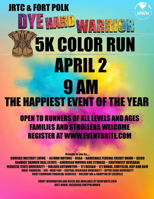 Dye Hard Warrior 5K Color Run