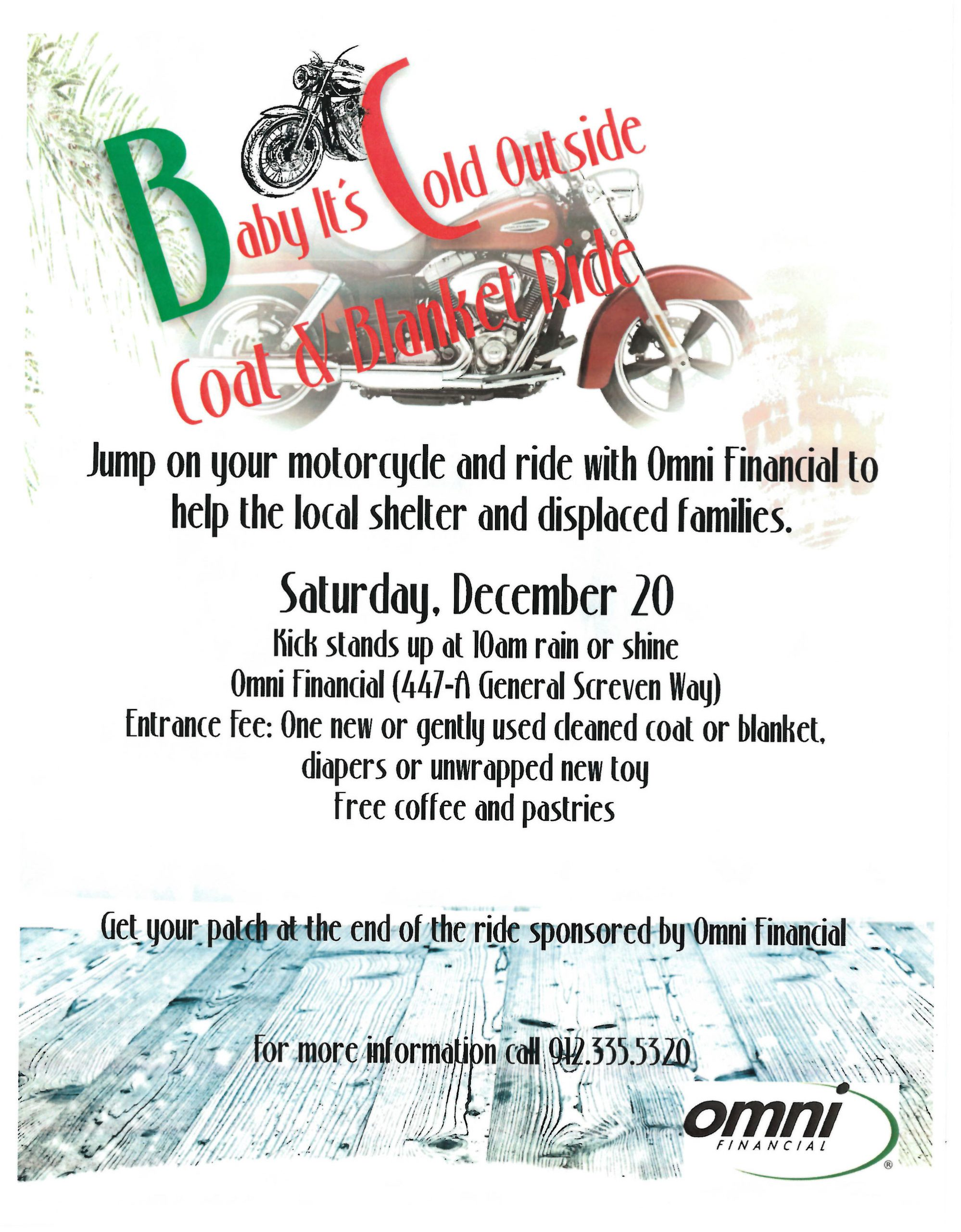 Motorcycle Charity Drive