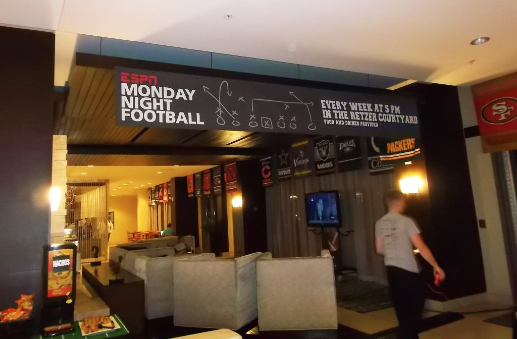 Football Game Screenings At Pacific Beacon 1