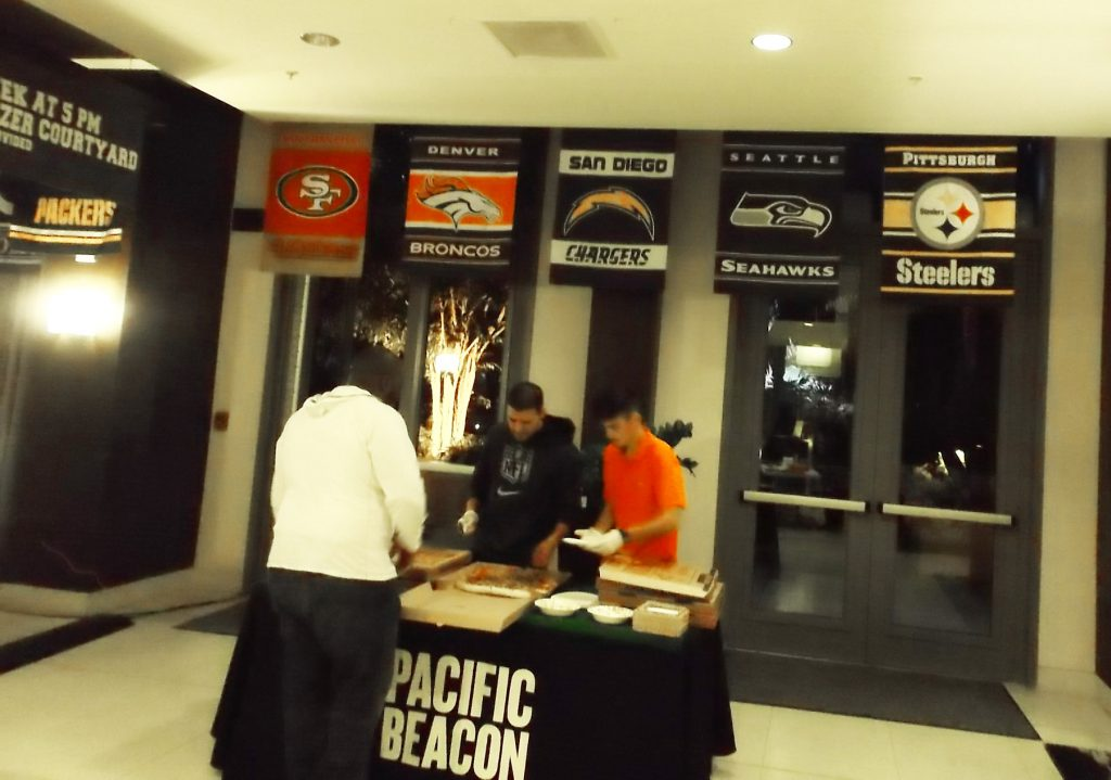 Football Game Screenings At Pacific Beacon 2
