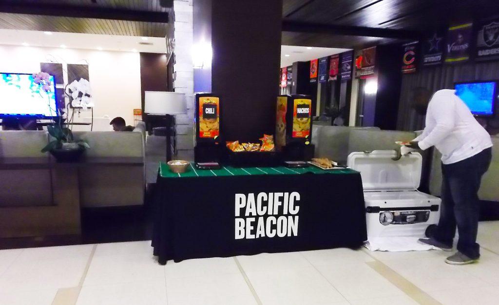 Football Game Screenings At Pacific Beacon 3