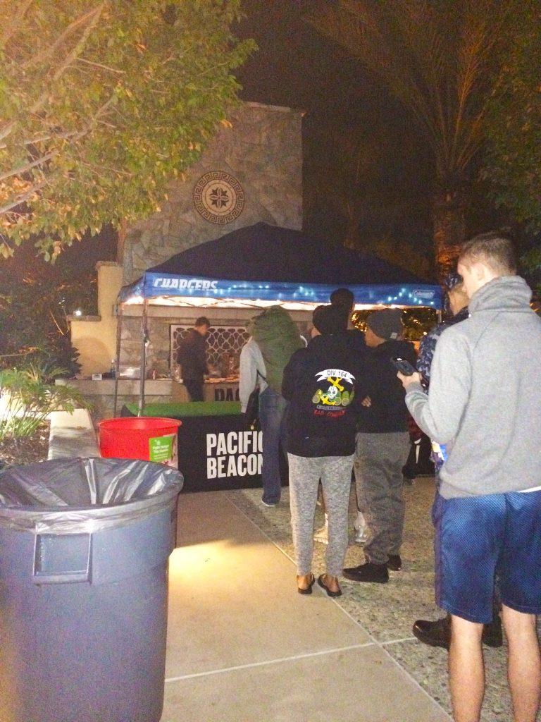Football Game Screenings At Pacific Beacon 6
