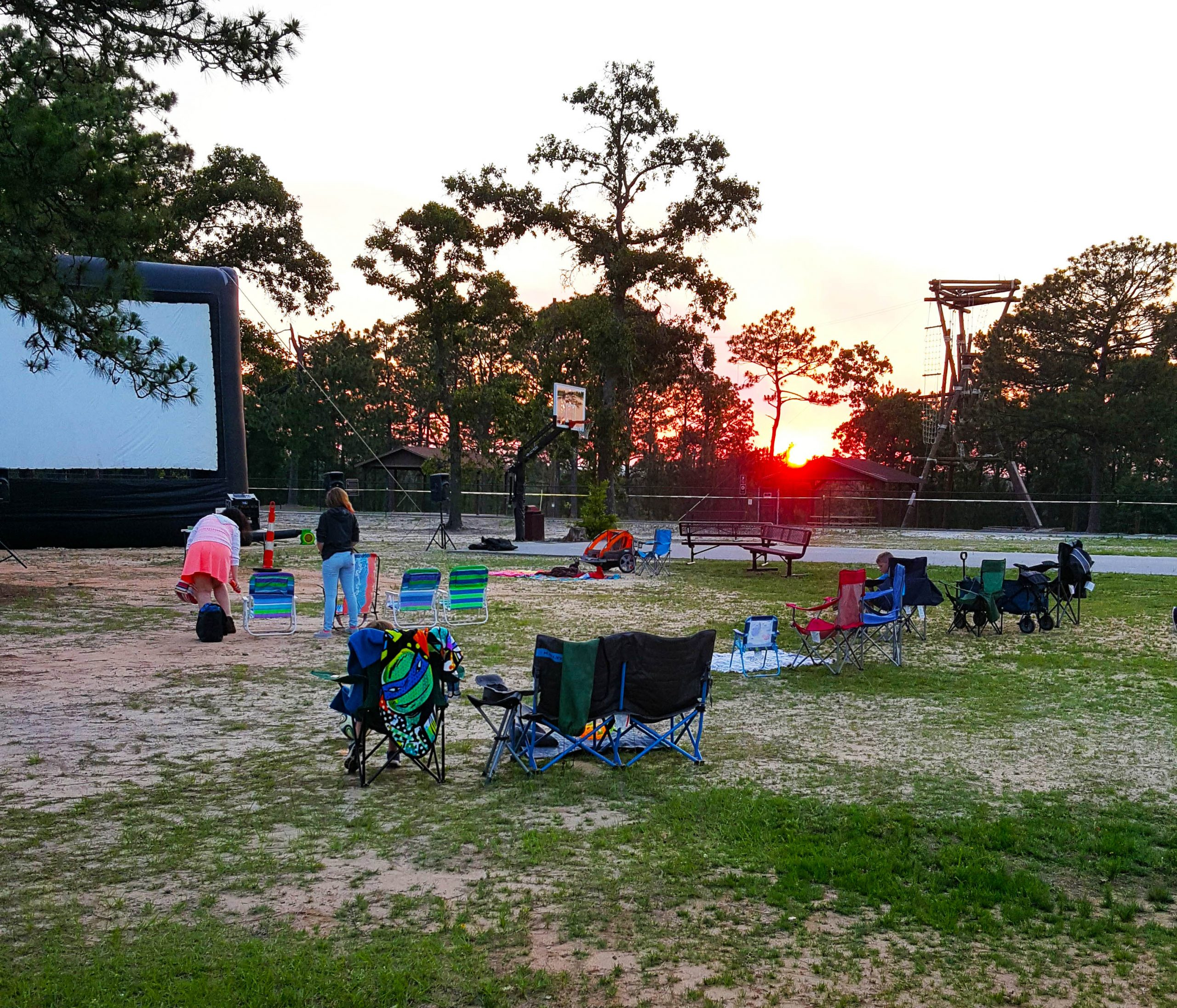 Fort Bragg Movie Night 4