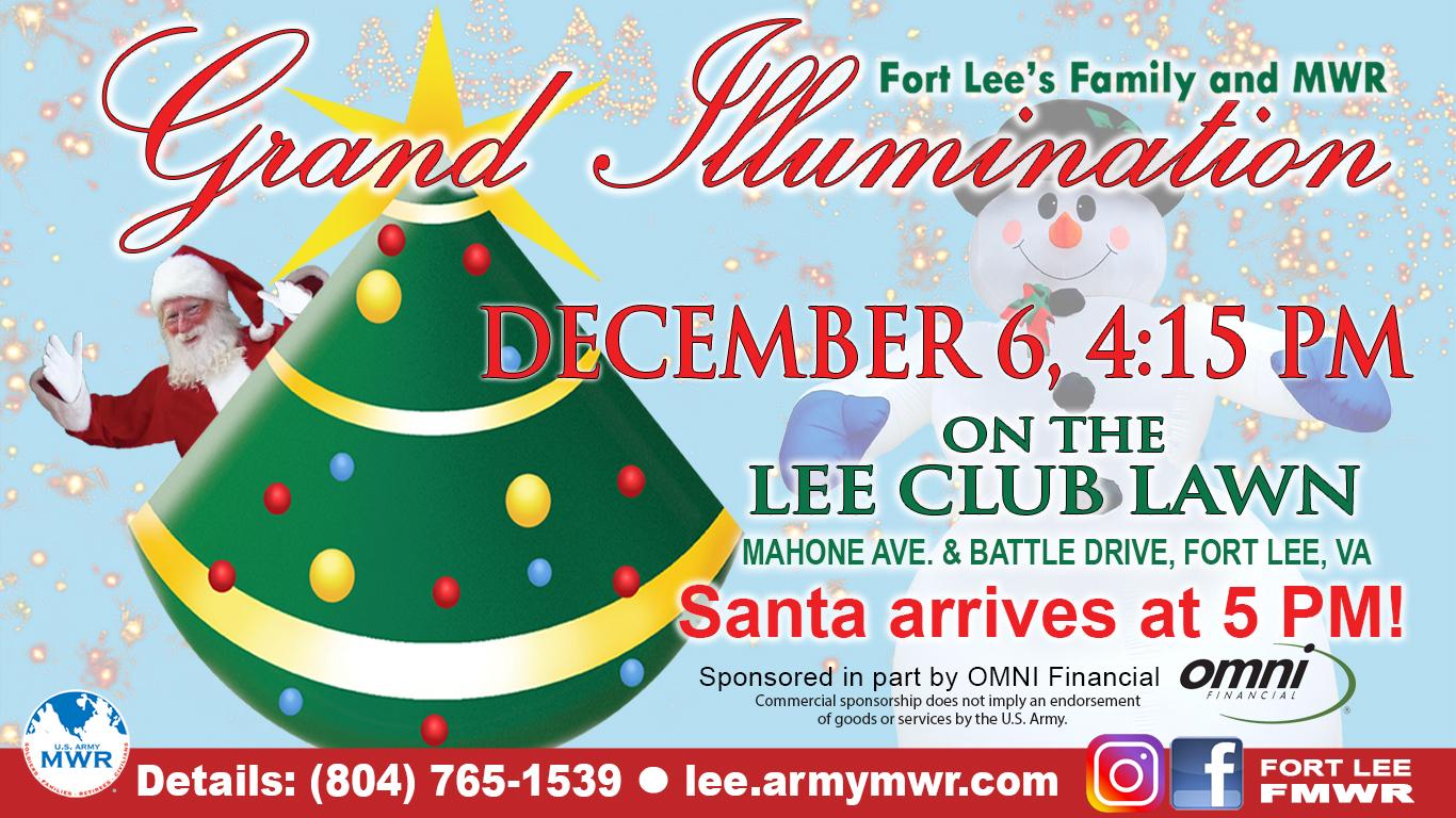 Fort Lee Grand Illumination Event 2018