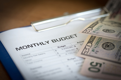 Budgeting your military paycheck infographic