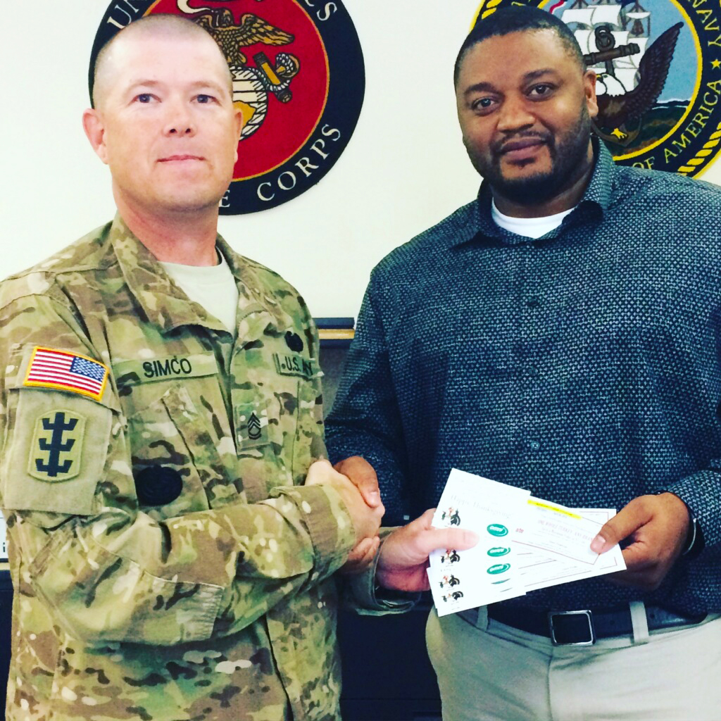 Holiday Giving for the Military
