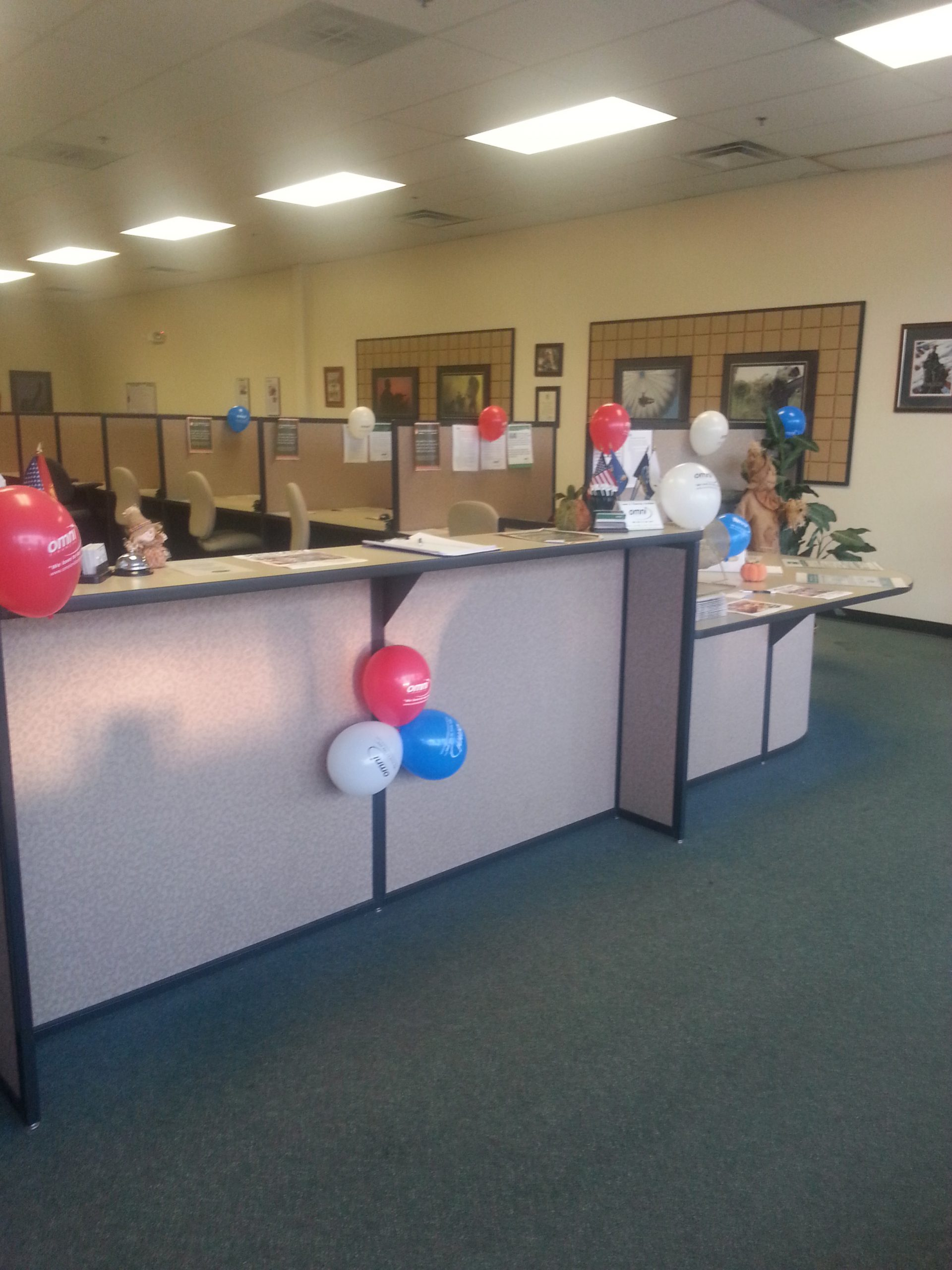 Interior Decorations with Balloons