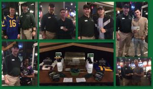 Omni in Jacksonville celebrated the Big Game 2019 at Buffalo Wild Wings   Omni Military Loans