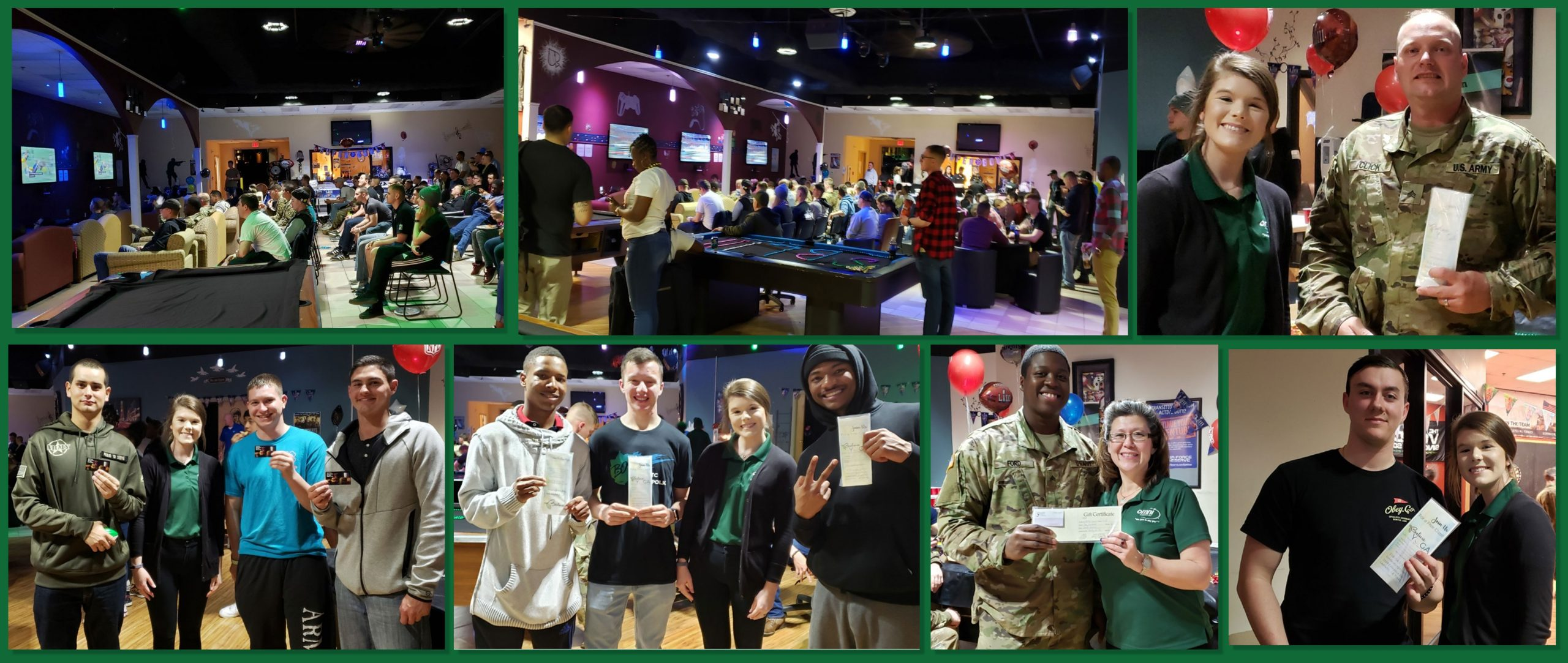 Omni in Leesville watched the Big Game 2019 at Strike Zone & Spare Time Lounge   Omni Military Loans