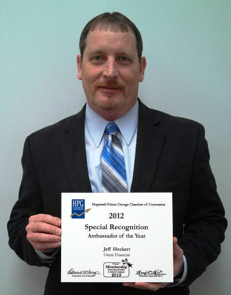 2012 Special Recognition of the Year Award