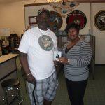 Omni Financial Fayetteville, NC: Customer James Ford, with Fayetteville Customer Care Specialists Erica Wright