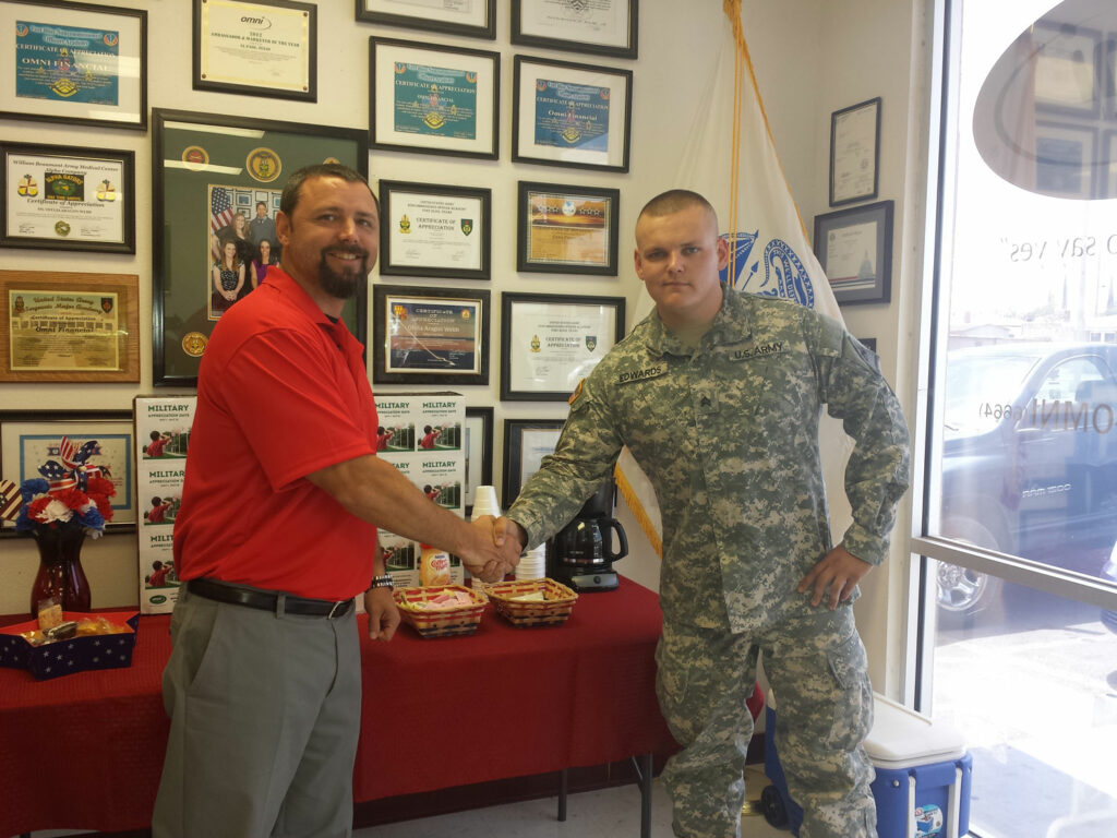 At Omni, Military Appreciation Lasts All Year Long