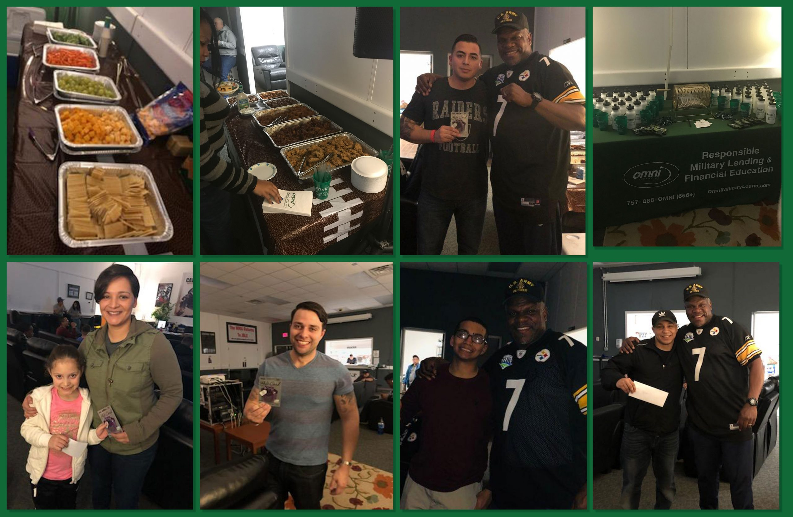 Omni in Newport News partnered with Family and MWR for the Big Game 2019   Omni Military Loans