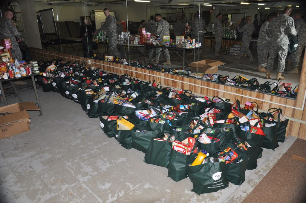 Ft. Carson Food Drive… Part II