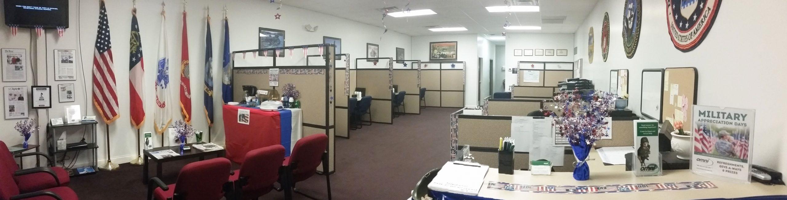 Office Interior Panorama edit