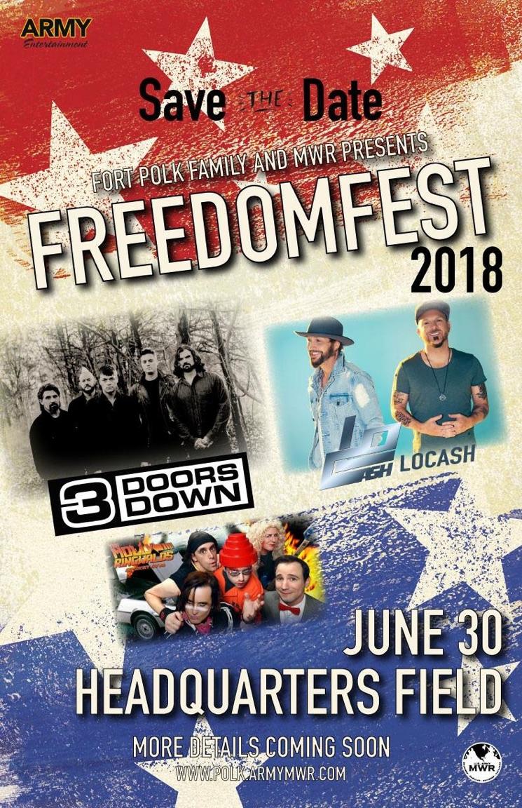 Fort Polk Freedom Fest 2018