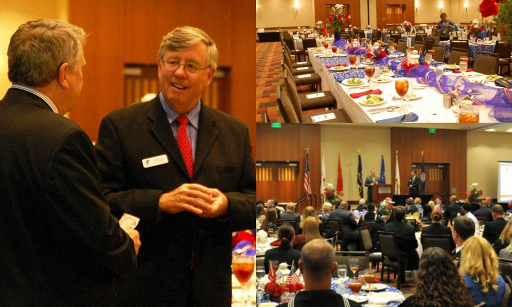 Omni Military Loans ASYMCA 5 Star Luncheon Collage