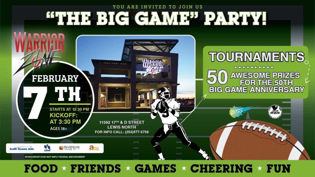 Omni Military Loans JBLM Big Game Party