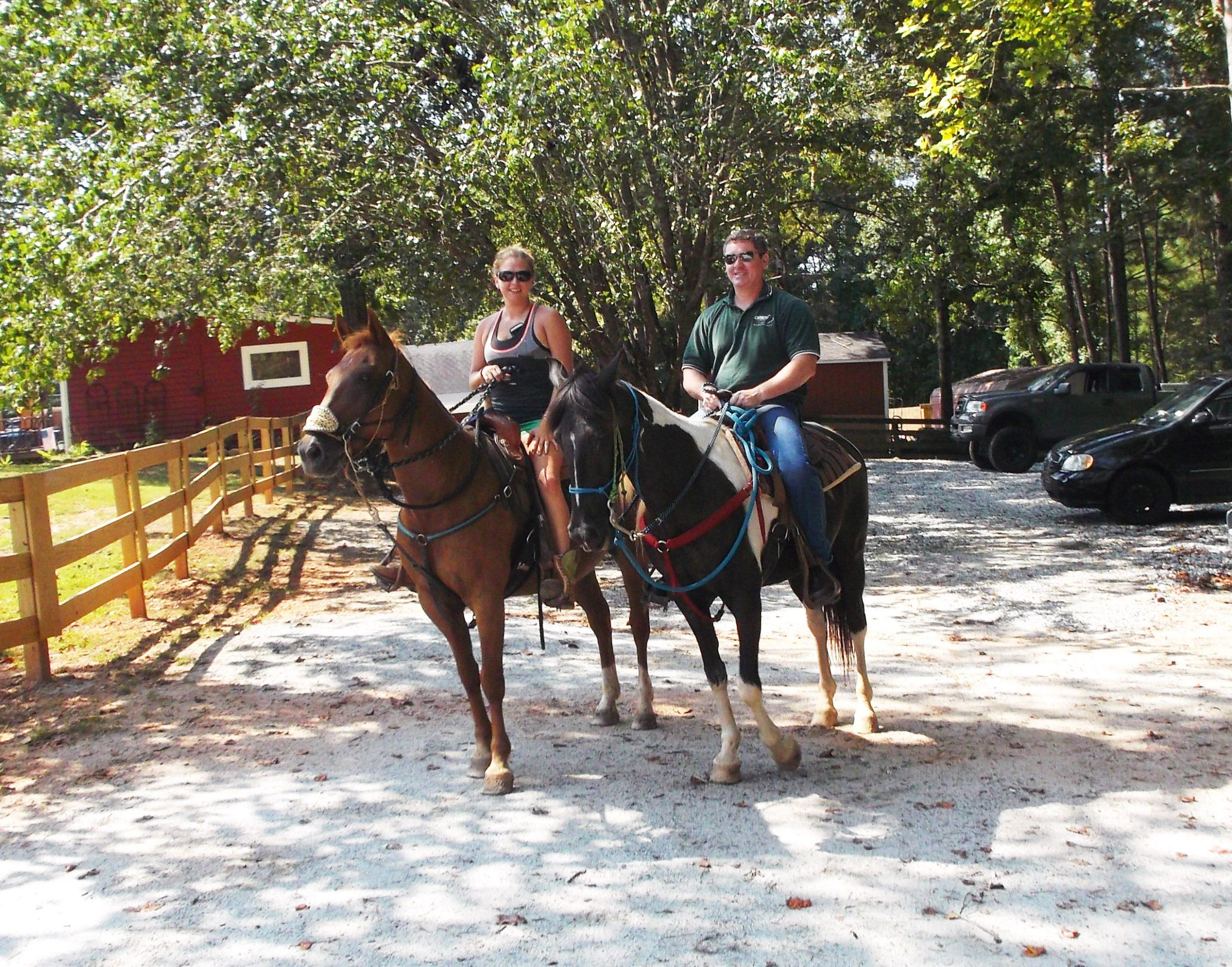 Omni Military Loans Warrior Outreach Rick Sanders Horseback Riding