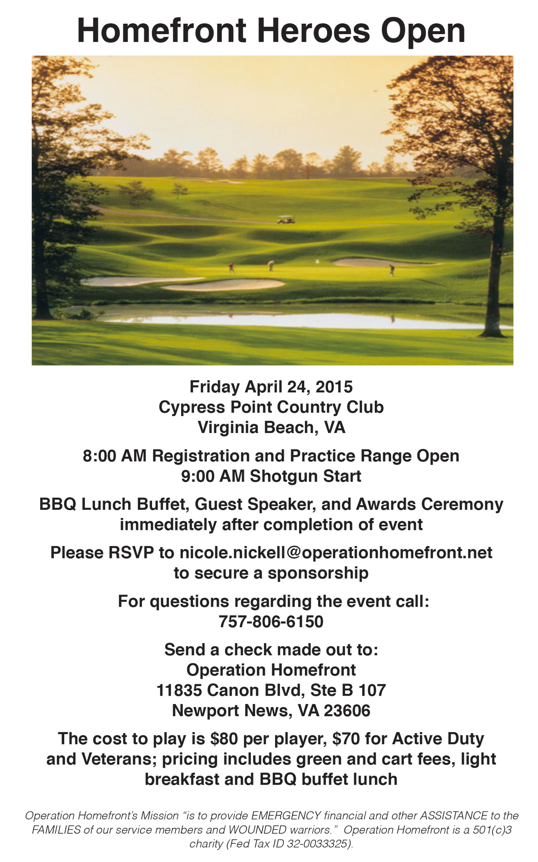 Homefront Open Golf Tournament