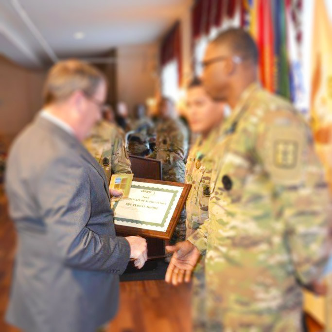 Quartermaster 23rd Brigade Instructor of The Year